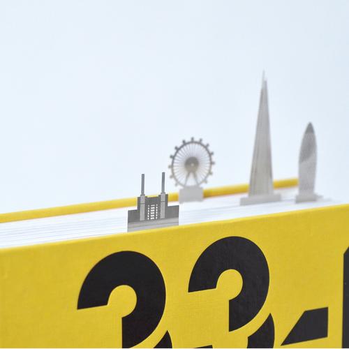 marcapáginas Londres