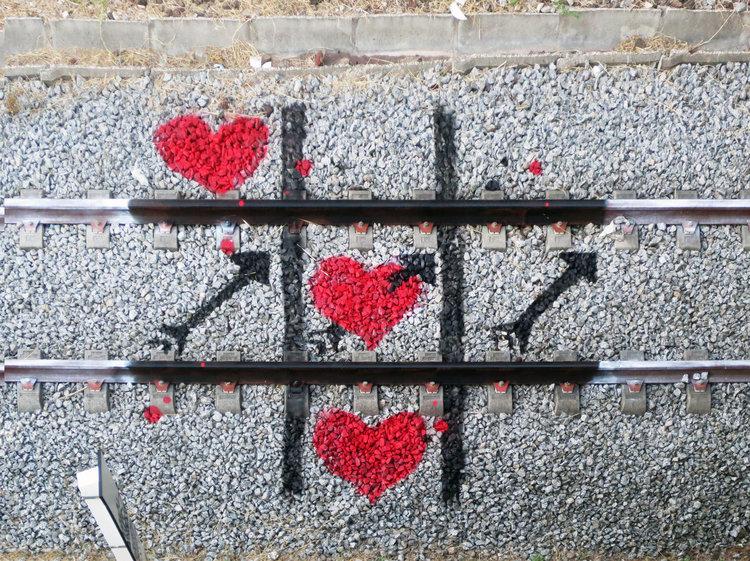 corazones y flechas