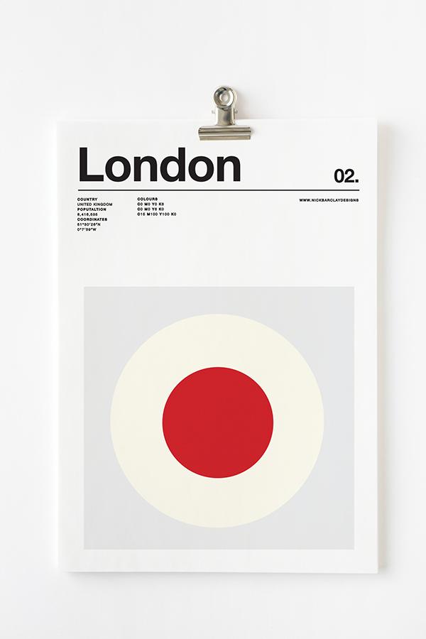 Póster Londres