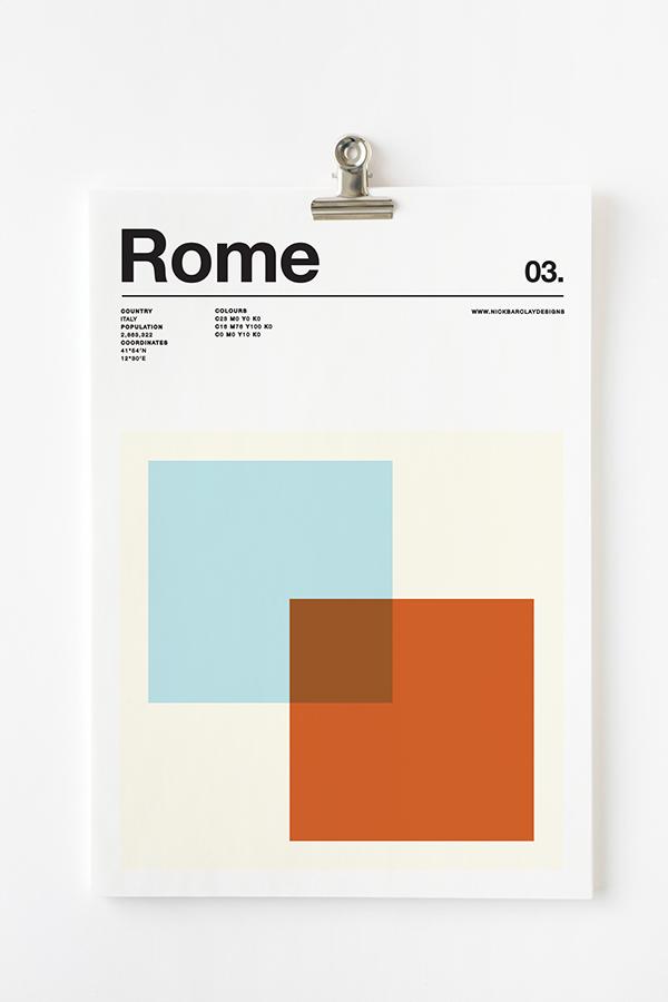 Póster Roma