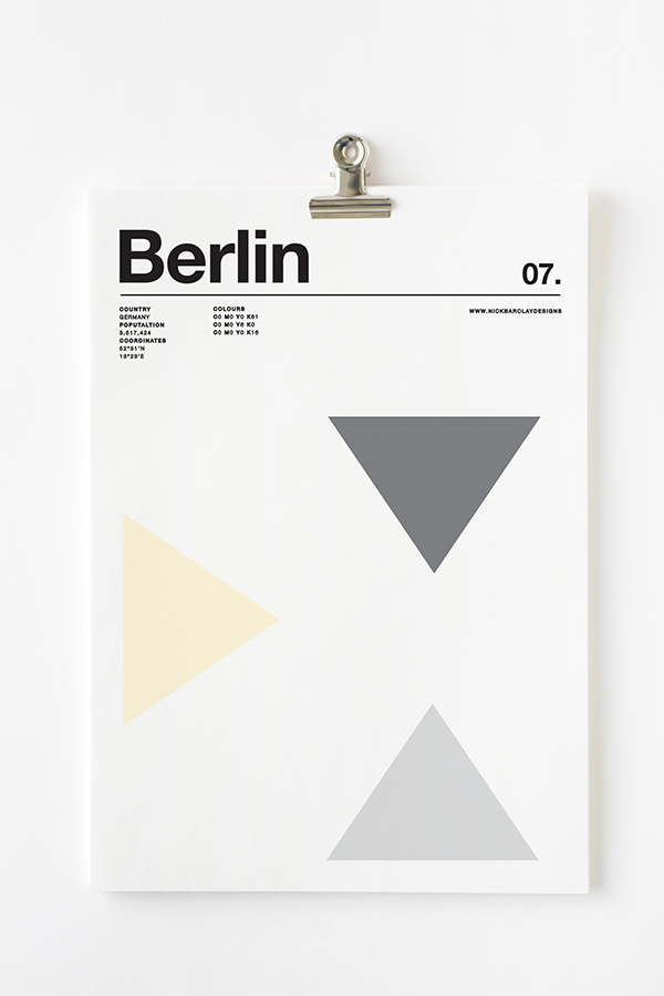 Póster Berlin
