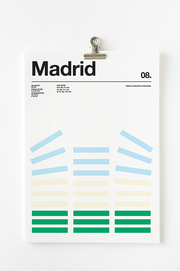 Póster - Madrid