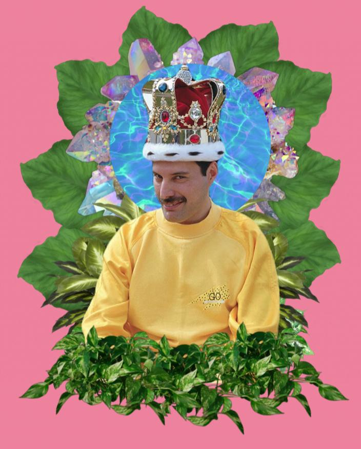 Freddy Mercury @Rubén Guadalupe Márquez