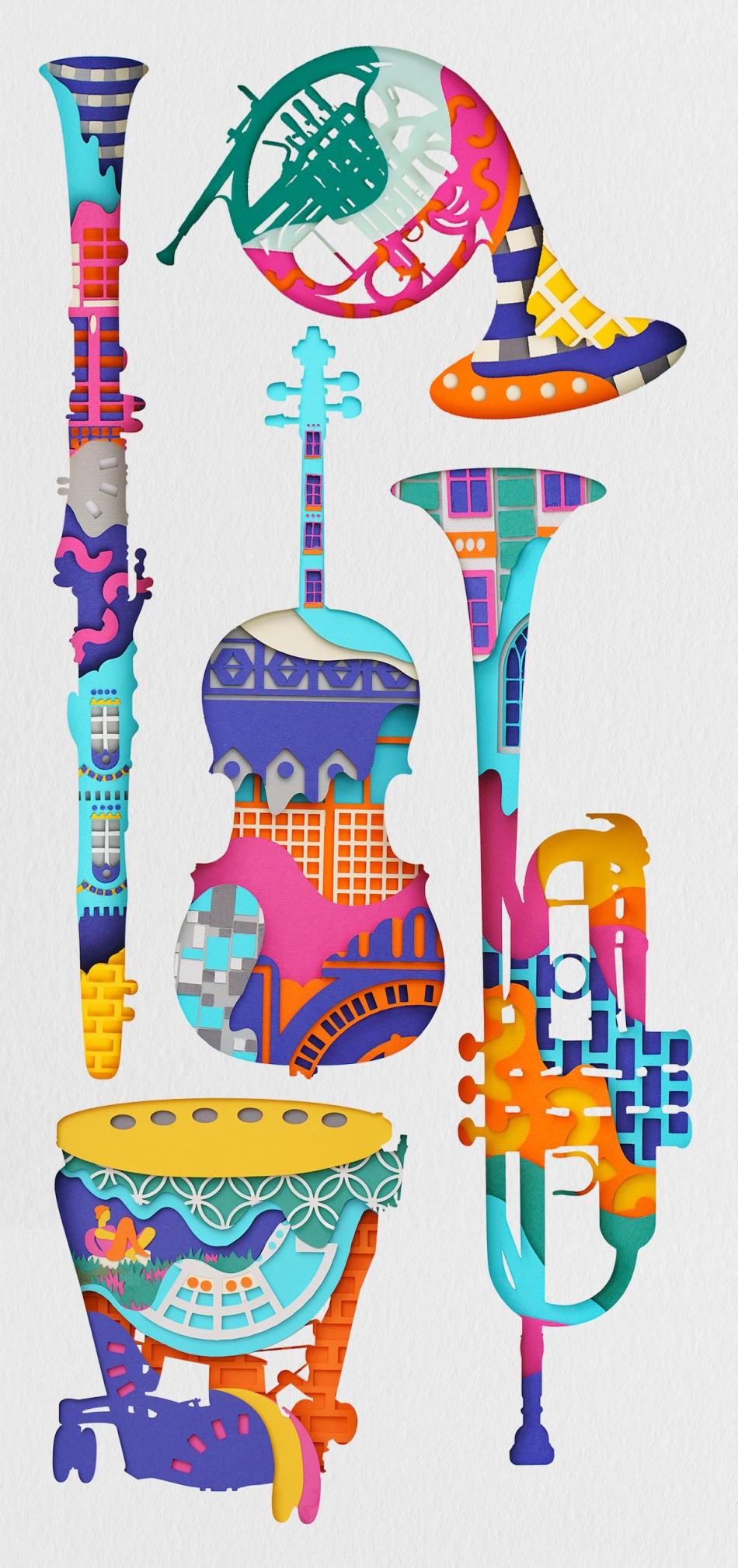 Instrumentos @Sam Pierpoint