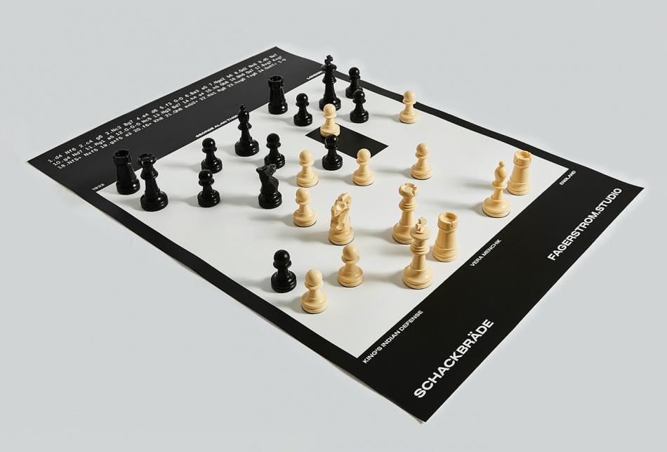 Schackbräde © Fagerström